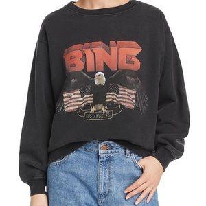 anine bing vintage eagle sweatshirt